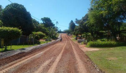 Prefeitura realiza pavimentação asfáltica em Las Palmas