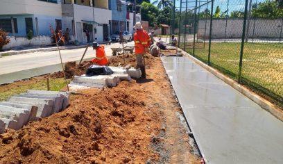 Prefeitura dá inicio a obras de requalificação em dez praças