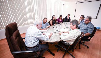 Prefeitura e Governo do Estado definem questões sobre infraestrutura para o município
