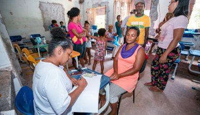 Prefeitura leva serviços sociais para Alameda do Rio na Cascalheira
