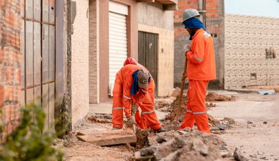 Prefeitura promove acessibilidade e segurança com construção de novos passeios