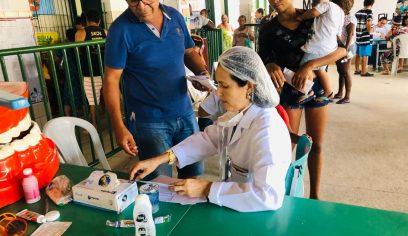 Mais de 1.400 pessoas são atendidas em ação da Sesau