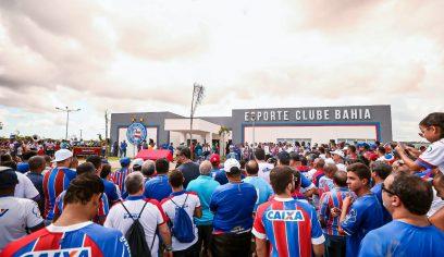 Com isenção de 70%, concedido pela Prefeitura, Novo Centro de Treinamento do Bahia é inaugurado