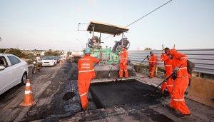 Obras de duplicação do Viaduto do Trabalhador seguem aceleradas