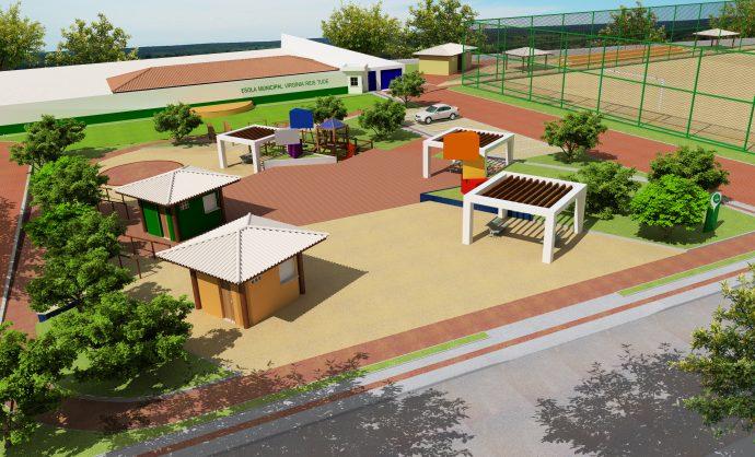 Ordem de serviço para construção da Praça Virgínia Reis Tude será assinada dia 18