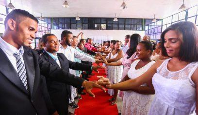 Inscrições para 3º Casamento Coletivo começa na próxima segunda-feira