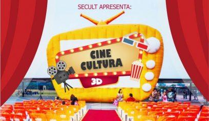 Cine Cultura 3D leva lazer e diversão para diversas famílias