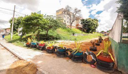 Prefeitura transforma área no bairro Piaçaveira em jardim ecológico