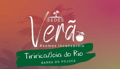 Sedes Verão chega a Tiririca nesta quarta-feira (19)