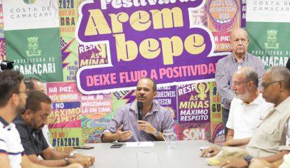 Cancelamento do Festival de Arembepe é tema de coletiva de imprensa