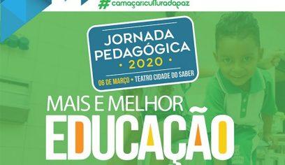 Jornada Pedagógica 2020 começa nesta sexta-feira (6)
