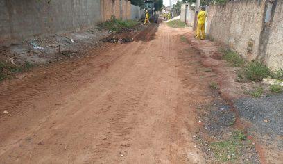 Rua Bahia em Monte Gordo receberá pavimentação asfáltica