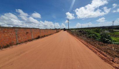 Pavimentação asfáltica chega à comunidade de Tucunaré