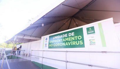 Centro de Enfrentamento ao Coronavírus de Monte Gordo começa a funcionar nesta segunda (6)