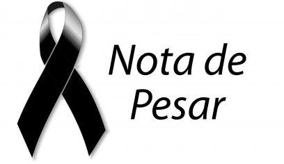 Nota de pesar pelo falecimento de Israel Batista