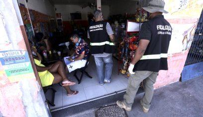 Fiscalização em bairros de Camaçari é mantida durante o fim de semana