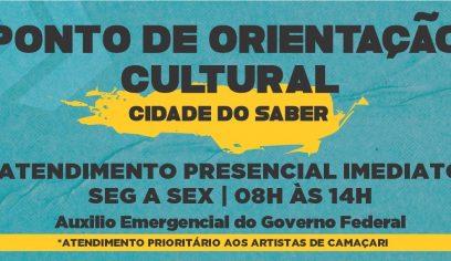 Prefeitura lança Ponto de Orientação Cultural na Cidade do Saber
