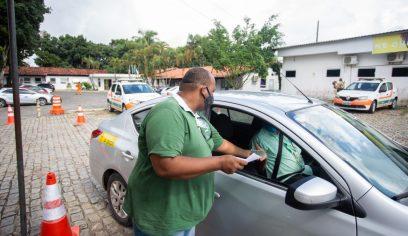 Mais de 220 permissionários do transporte público receberam Vale Cesta