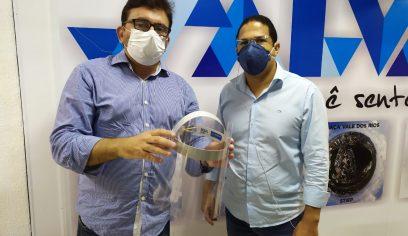 Prefeitura recebe doação de mais 200 máscaras face shield