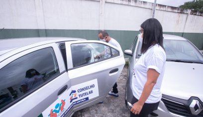 Governo destina veículos para os Conselhos Tutelares de Camaçari