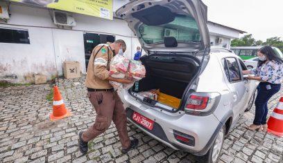 STT entrega cestas básicas para permissionários