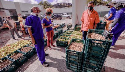 Sedap compra 10 toneladas de produtos juninos