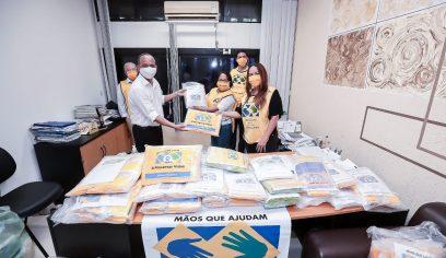 Prefeitura recebe doação de 5 mil máscaras artesanais