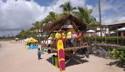 Posto salva-vidas é instalado em Itacimirim