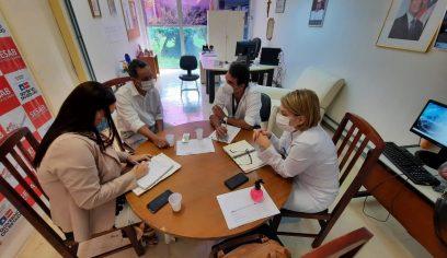 Leitos de internamento e regulação de pacientes é tema de reunião entre Sesau e diretoria do HGC