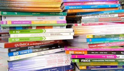 Nota de esclarecimento sobre vídeo com descarte de livros didáticos