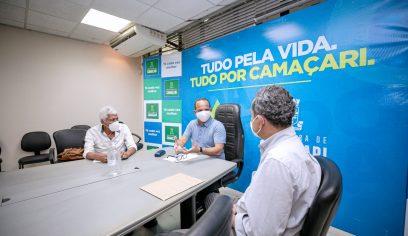 Celeridade na reabertura do CIEC é debatida pelo prefeito Elinaldo
