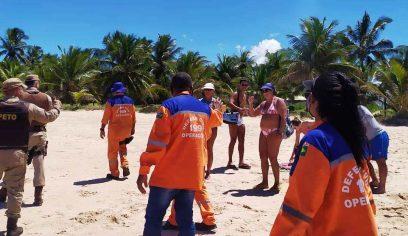 Fiscalização atuou em praias e rios de Camaçari no último fim de semana