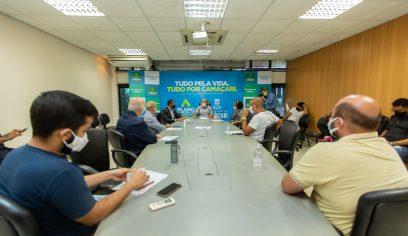 Governo se reúne com vereadores e segmento empresarial
