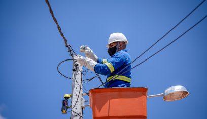 Sesp continua serviços de ampliação da iluminação pública do município