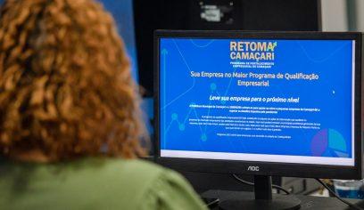 Site do Retoma Camaçari é apresentado à Sedec