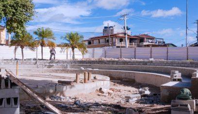 Praça da Matriz em Abrantes recebe obras de requalificação