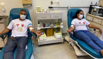 Sedes estimula doação de sangue para reforçar estoque do Hemoba