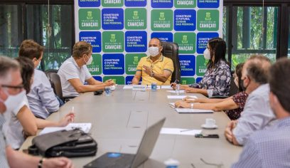 Prefeito recebe executivos da RedeMiX e trata sobre instalação do grupo no município