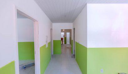 Obras do Núcleo de Assistência Social de Barra do Pojuca estão quase concluídas