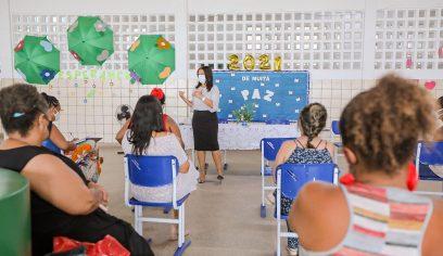 Seduc participa de mais um encontro com os comitês escolares