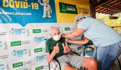Vacinação contra a Covid continua em ritmo acelerado em Camaçari