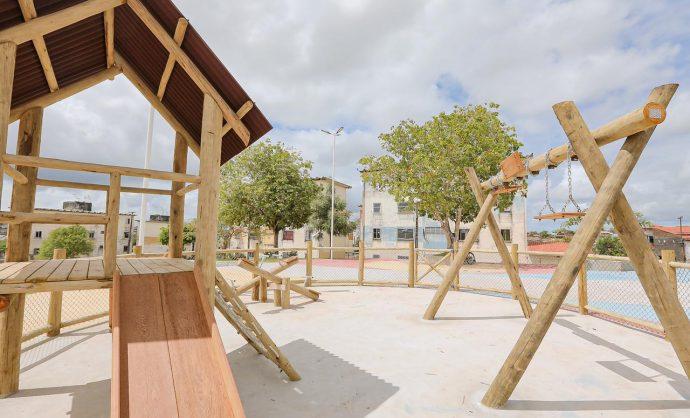 Praça Santa Luzia, na Gleba C, será entregue em março à população
