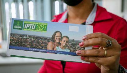 Contribuinte pode pagar cota única e 1ª parcela do IPTU até dia 20