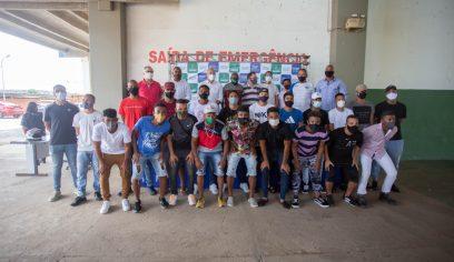 Camaçari Futebol Clube apresenta elenco para disputar série B do Baiano