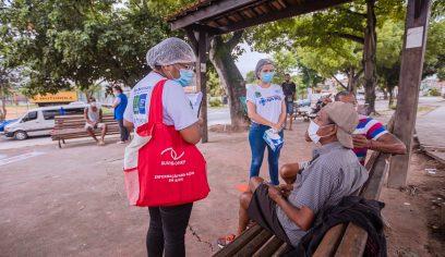 Programa leva atendimento de saúde para usuários em situação de rua