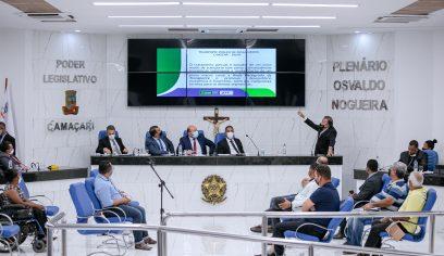 STT participa de audiência pública na Câmara de Vereadores