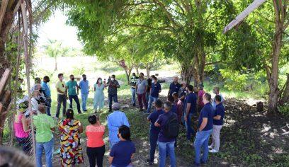 Reflora Camaçari chega à Fonte do Buraquinho, em Vila de Abrantes