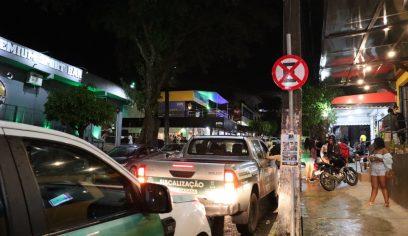Sedur realiza operação em bares e casas de shows a pedido do Ministério Público