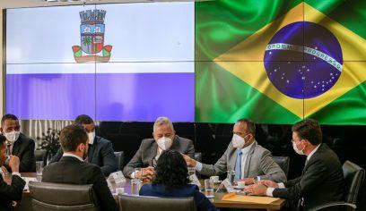 Prefeito Elinaldo leva pleitos do Esporte e do Social ao Ministério da Cidadania