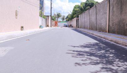 Mais de 250 ruas foram pavimentadas através da parceria com a CAF